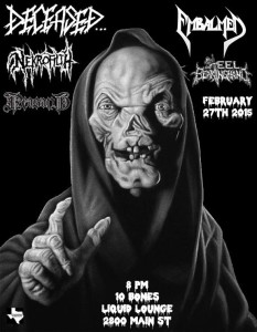 EMBALMED - February 27th at the Liquid Lounge